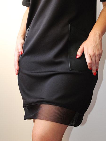 Vestido black chocker