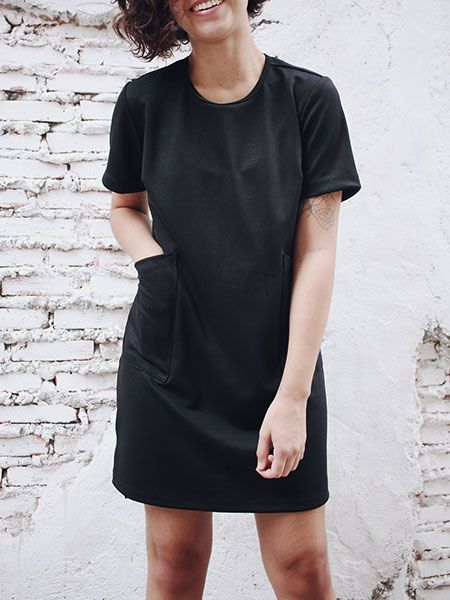 Vestido Liv preto