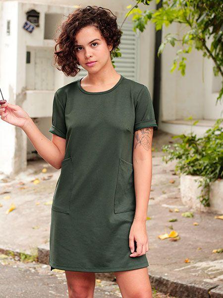Vestido Liv verde