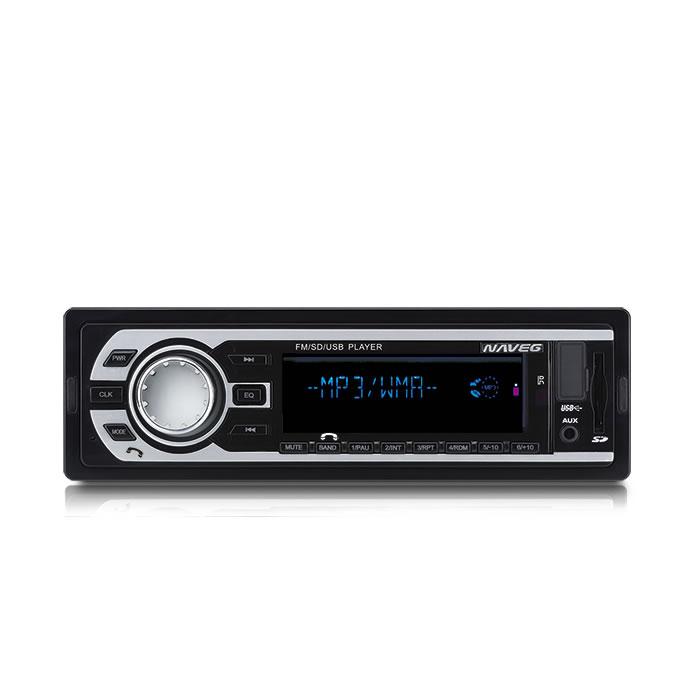 AUTO RÁDIO MP3 COM ENTRADAS USB-SD, CONTROLE REMOTO E BLUETOOTH (CONECTE SEU CELULAR)