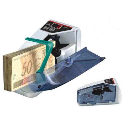 Contadora de Cédulas de Dinheiro e Notas Portátil DP-5118