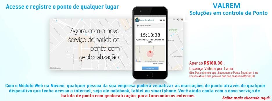acesse e registre o ponto de qualquer lugar com esse app