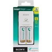 Carregador Sony Cycle Energy 2 pilhas AA 2100mAh