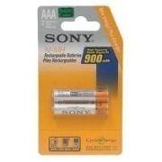 Pilhas Recarregáveis Sony 900mAh c/ 2