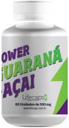 Power Guaraná + Açaí 60 cápsulas de 500 mg