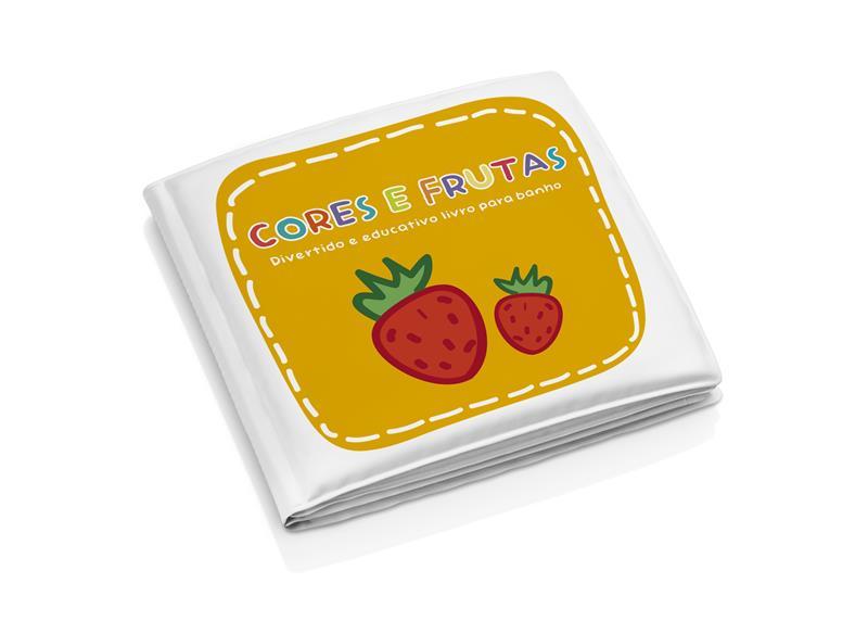 Livrinho De Banho Cores e Frutas