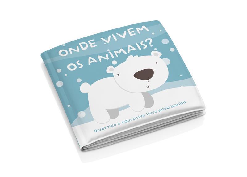Livrinho De Banho Onde Vivem os Animais