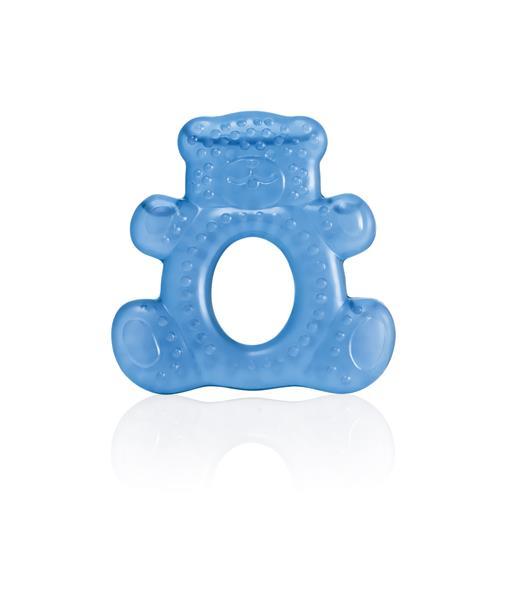 Mordedor Com Agua Teddy Bear Azul