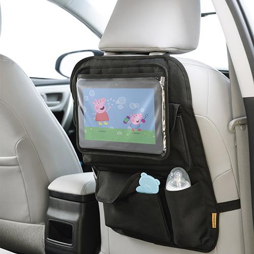 Organizador Para Carro Com Case Para Tablet Store 'n Watch