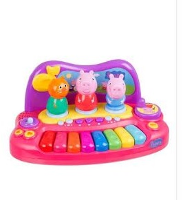 Peppa Piano com personagens