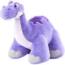 Pelúcia Dino Thunder Stompers Roxo