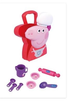 Peppa Pig Maleta Chef