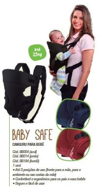Canguru Para Bebê Baby Safe