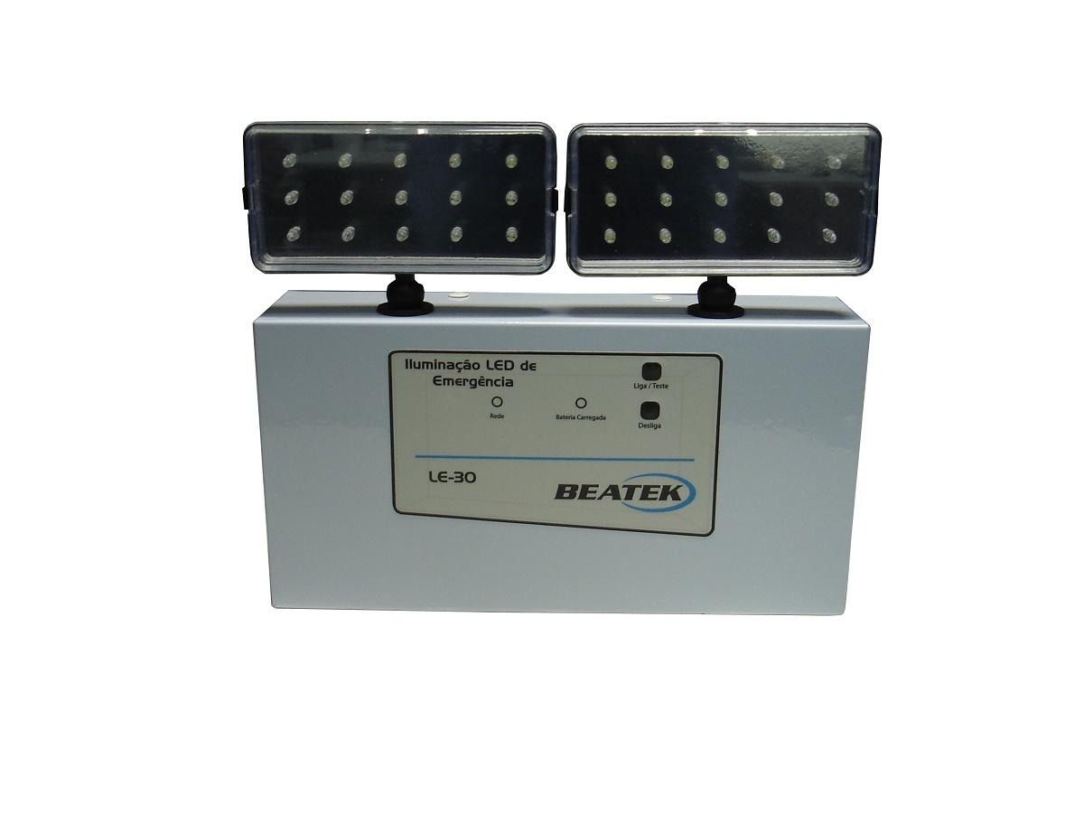 Luminária de Emergência LED LE-30