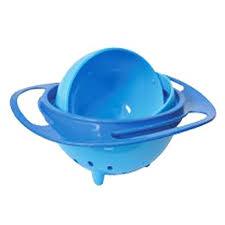 Prato Magico Azul 360 Graus (não deixa o alimento cair)