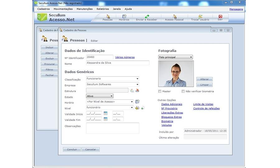 Secullum Acesso.Net Licença Anual