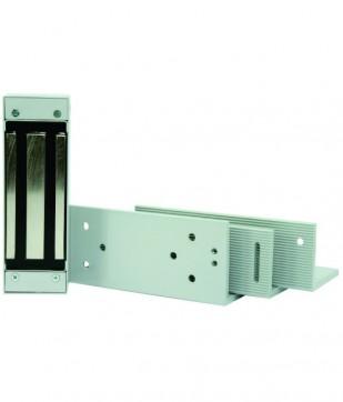 Fechadura Eletroimã 150 kg C/Suporte e Kit Universal