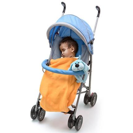 Cobertor para Bebê com Pelúcia - Cachorro