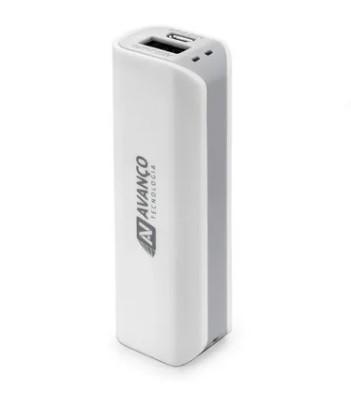 Carregador Bateria Portátil Powerbank 2600 Mah