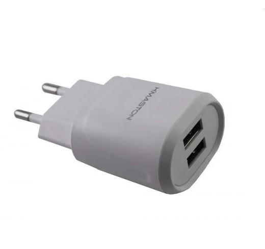 Carregador (fonte) USB Tomada 3.1A -  2 Entrada USB SEM CABO
