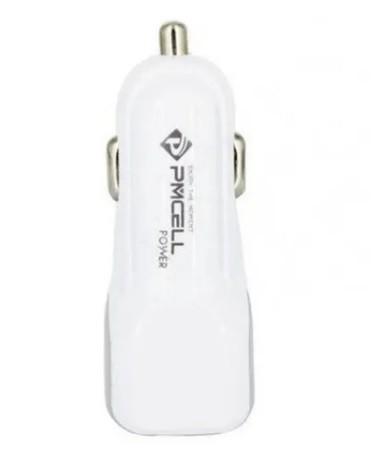 Carregador USB Veicular Universal Rápido 2 Entradas 2.1a 3.4a