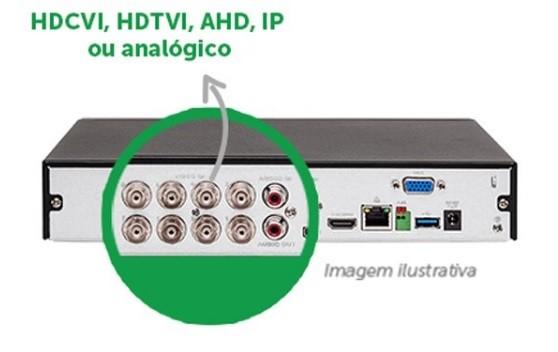 Gravador Digital de Vídeo DVR 8 Canais c/1TB de HD