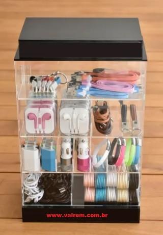 Kit Expositor com Acessórios para Celular ( Revenda )