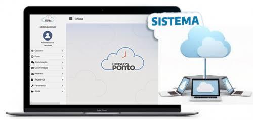 Software em Nuvem Henry Ponto Licença Anual 100 Colaboradores