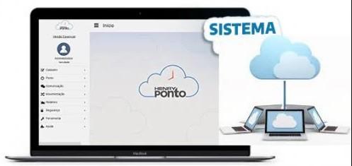 Software em Nuvem Henry Ponto Licença Mensal 30 Colaboradores.