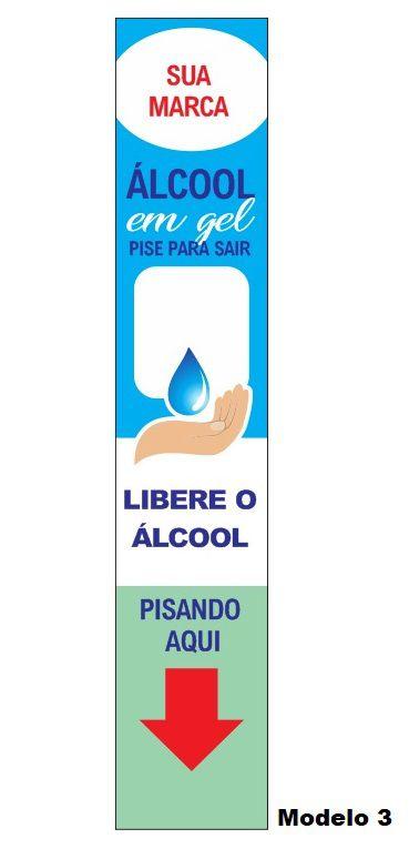 Totem Para Álcool Gel com Display