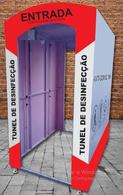 - Túnel de Desinfecção de Pessoas Anti Vírus e Bactérias