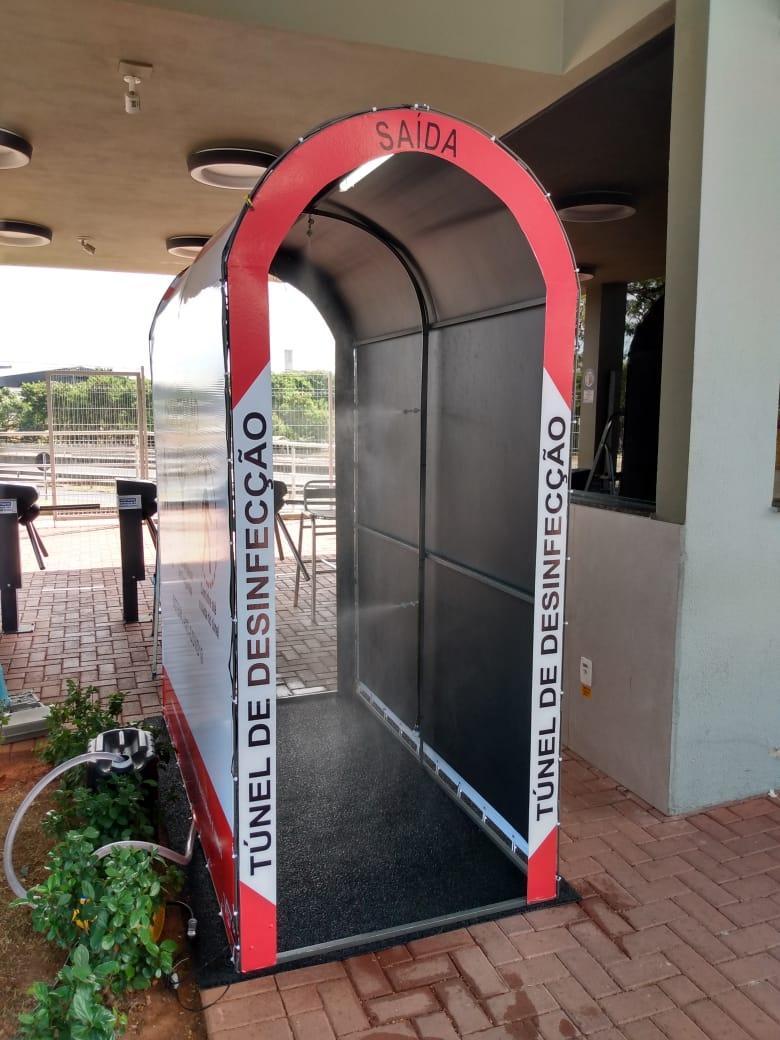 Túnel de Desinfecção de Pessoas Anti Vírus e Bactérias  ( Promoção Black Friday )