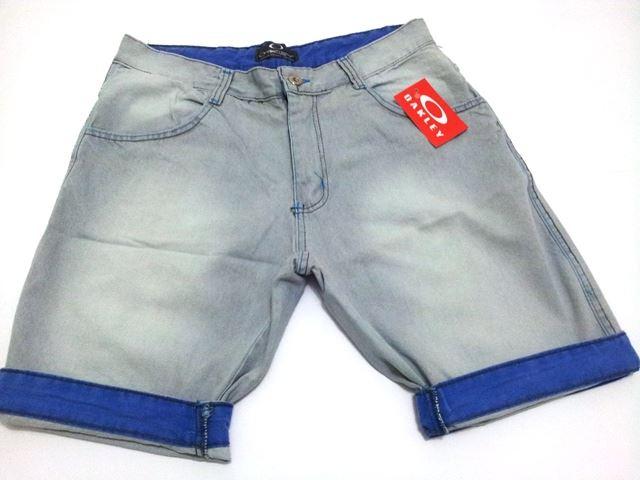 Kit C/ 5 Bermudas Jeans Masculinas Diversas Marcas