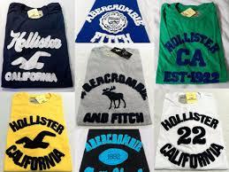 Kit C/ 5 Camisetas Masculinas Bordadas Diversas Marcas