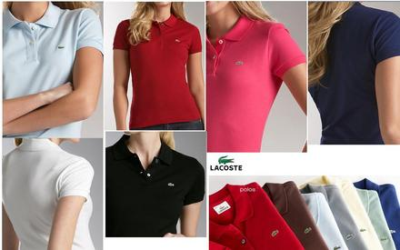Kit C/ 5 Camisas Polo Femininas Várias Marcas