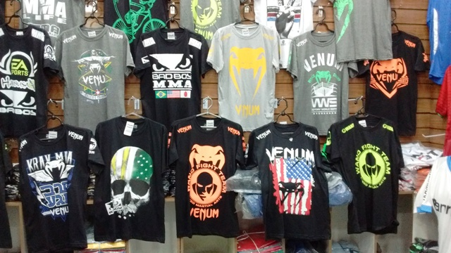 KIT C/ 10 Camisetas MMA Diversas Estampas