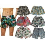 15 Bermudas Shorts Masculinos De Tactel Moda Praia Neymar