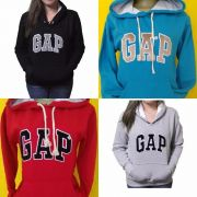 Kit C/ 5 Blusas De Moletom Gap Femininas