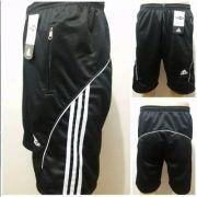 Kit 2 Bermudas Adidas Masculina Com Bolso De Ziper Promoção