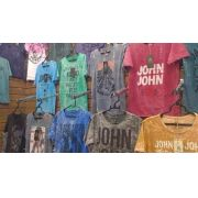 Kit 5 Camisas Masculinas John John Calvin Klein