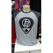 Camiseta Masculina Raglan Fio 30.1 Atacado Kit C/ 100 Camisa