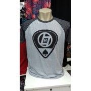 Camiseta Masculina Raglan Fio 30.1 Atacado Kit C/ 50 Camisa