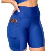 Kit 5 Bermuda C/bolso p/ Celular Fitness Shorts Academia Sport