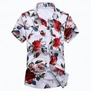 Kit 8 Camisas Floral Florida Masculina Havaiana Estampa