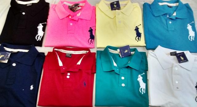 Camisas Polo Várias Marcas