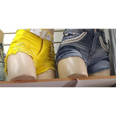 KIT C/ 3 BERMUDAS JEANS FEMININAS