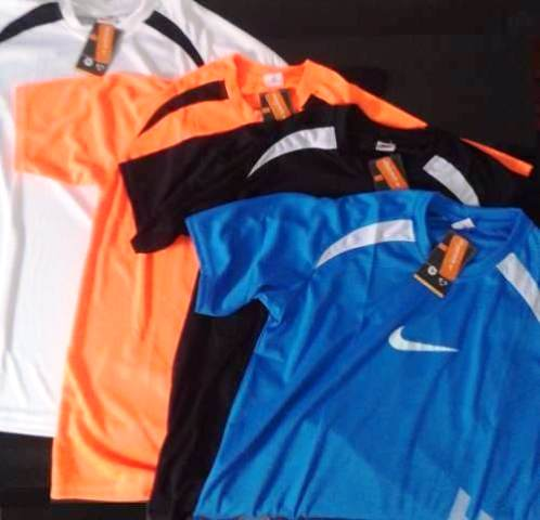 Kit C/ 100 Camisetas Nike Dry Fit Academia Fitness