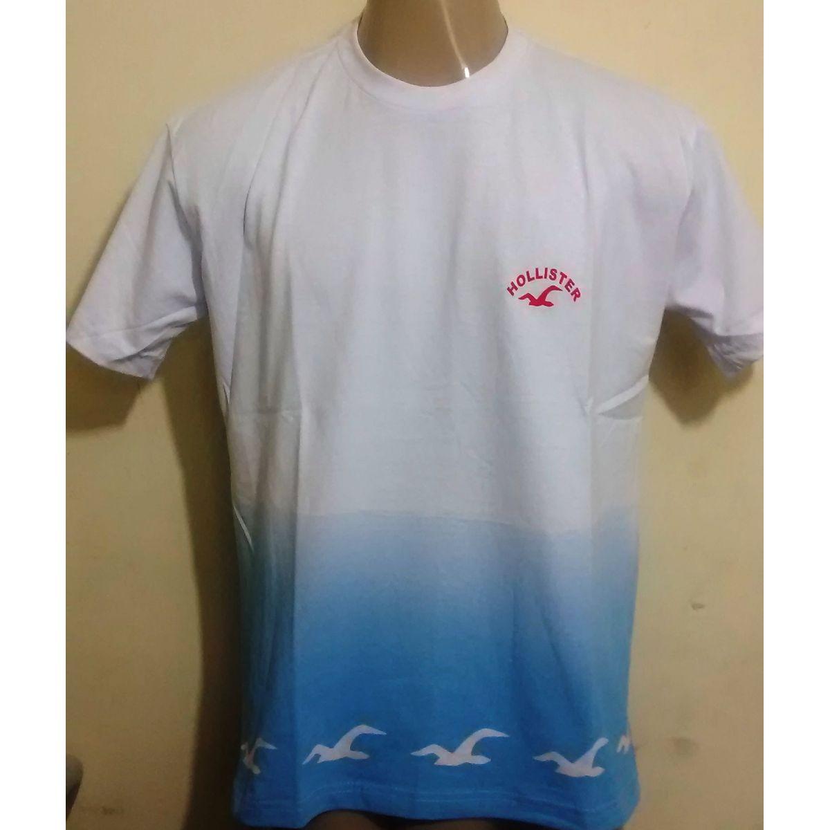 Kit C/ 20 Camisetas Masculinas Degrade Diversas Marcas