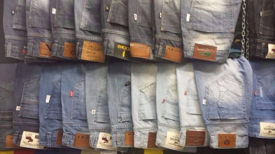 Kit C/ 2 Calças Jeans Masculinas Diversas Marcas
