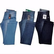 Kit C/ 4 Calças Jeans Masculinas Diversas Marcas